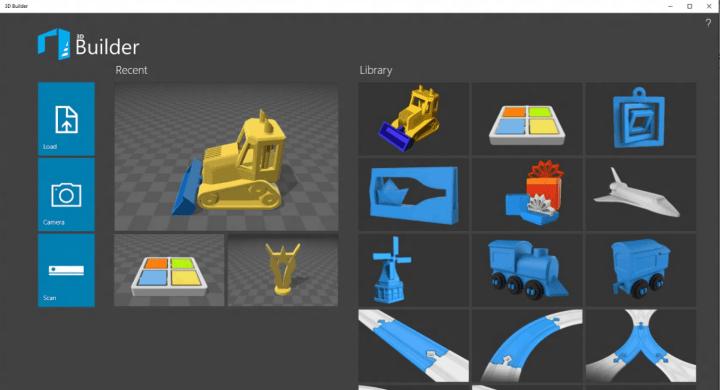 3D Builder Screenshot