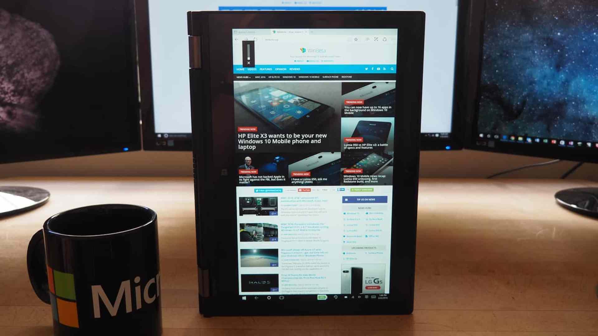 Lenogo ThinkPad Yoga 260 Portrait Tablet