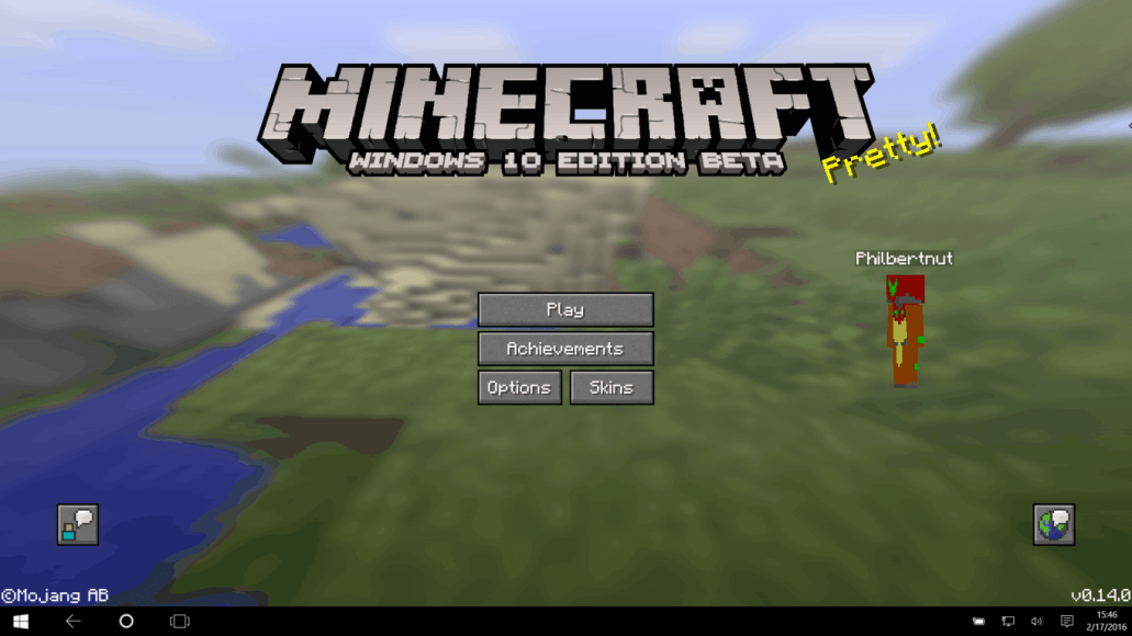 Minecraft Windows And Pocket Edition Updated To V Brings - Skins para minecraft windows 10 edition beta