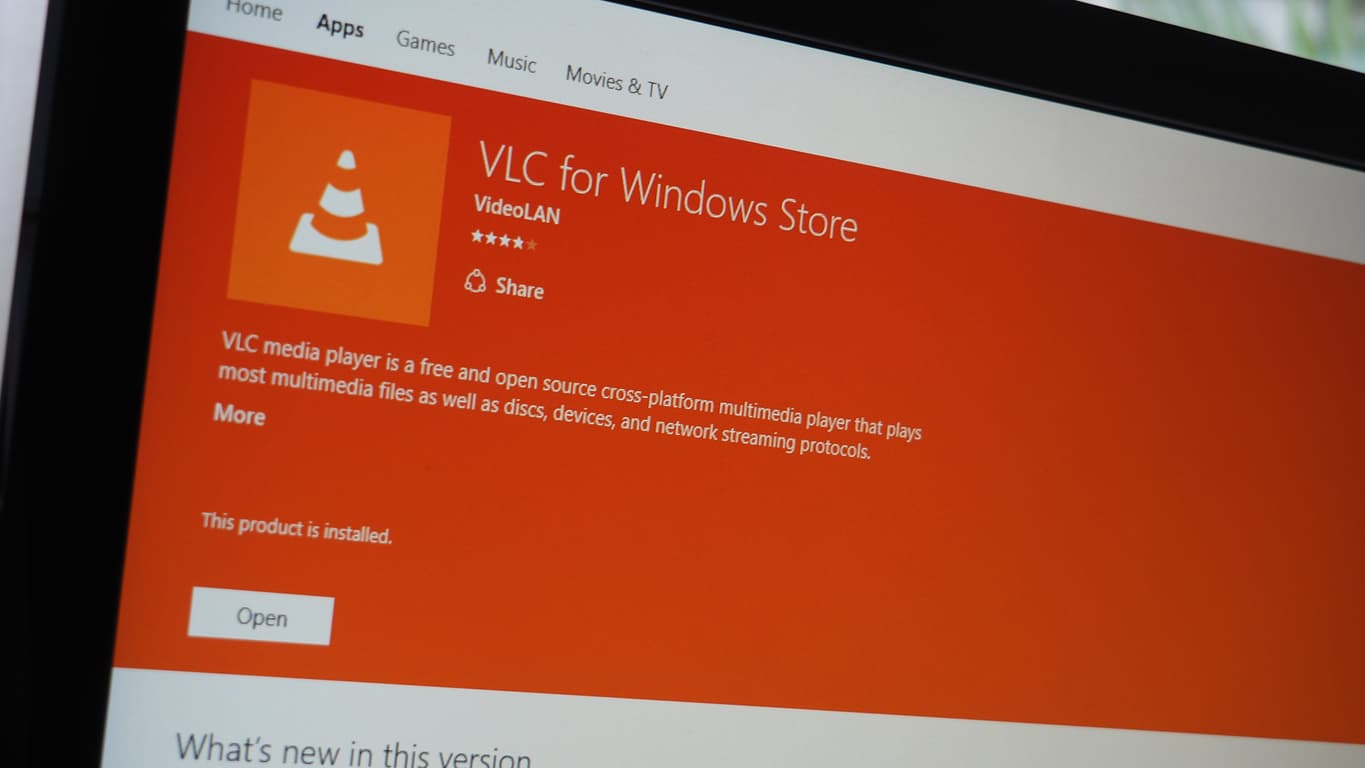 VLC for UWP Featured