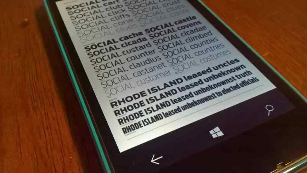 Microsoft details how typography affects user interface design | On MSFT