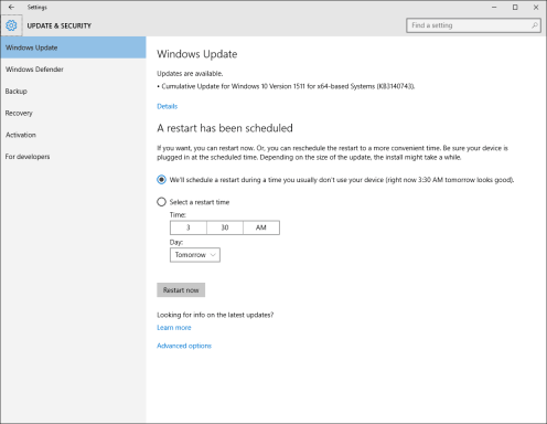 Windows 10 KB3140743