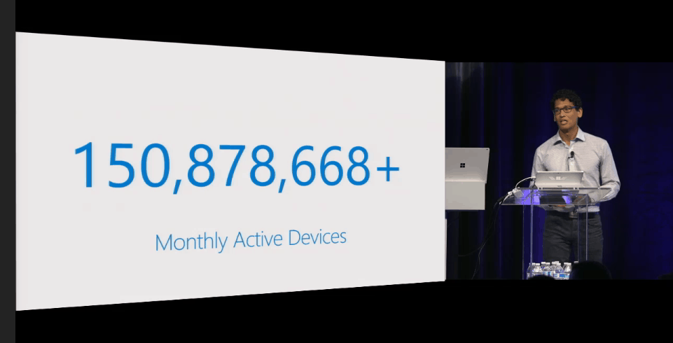 150 million devices using Edge