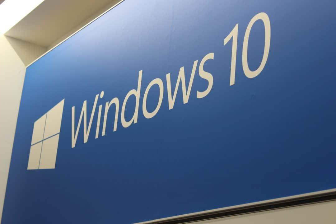 Windows 10 Sign Logo NYC