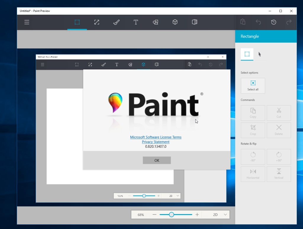 Paint, Universal Windows 10 app