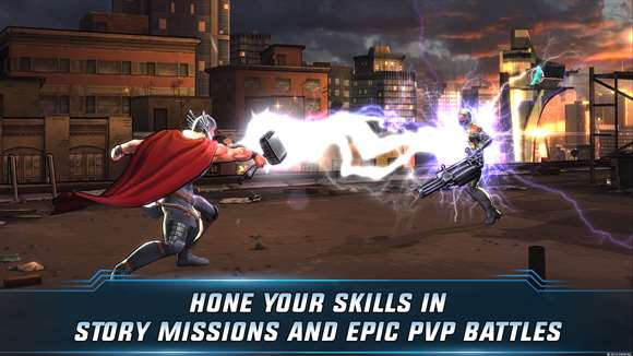 Marvel Avengers Alliance 2 Screenshot