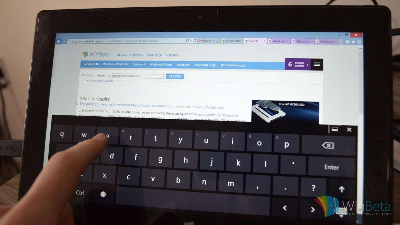 Feedback Friday: Improving on screen keyboards for Windows