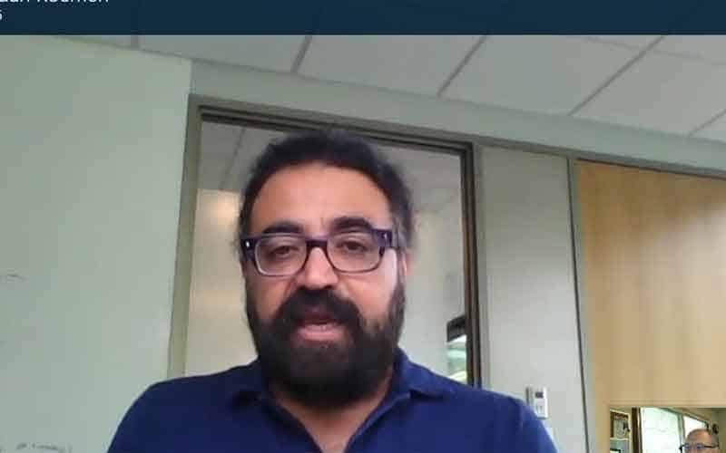 CVP Gurdeep Pall on Skype