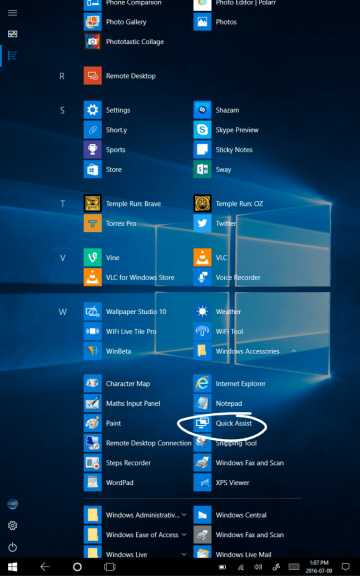 Microsoft's Quick Assist makes another appearance in Windows 10