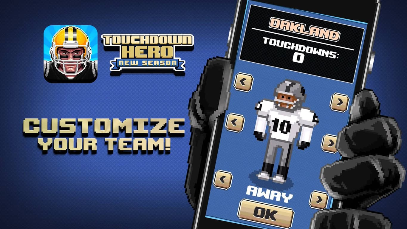 Touchdown Hero: New Season on Windows 10