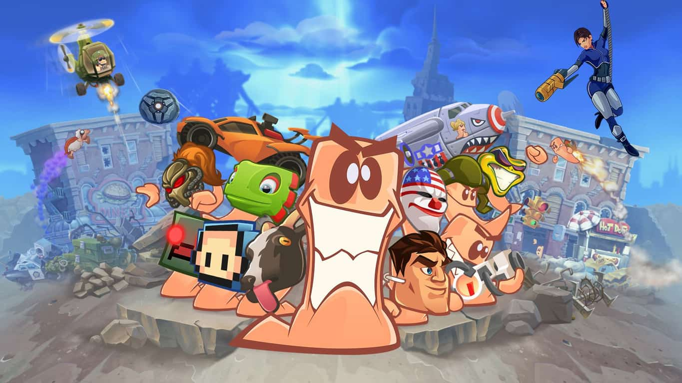 12+ Worms W.M.D All-Stars on Xbox One