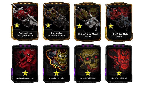 The Gears of War 4 cans will unlock exclusive in-game content.