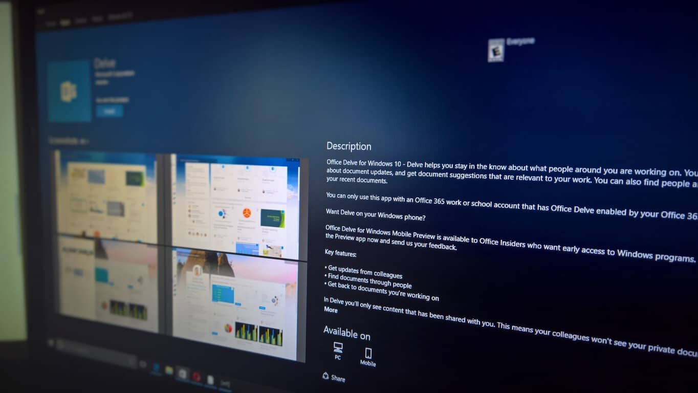 Office Delve for Windows 10 makes its way to Windows 10