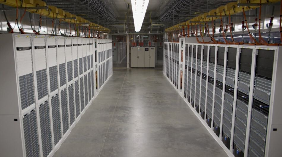 Inside Microsoft's fifth generation datacenter in Quincy (credit: The Next Platform).