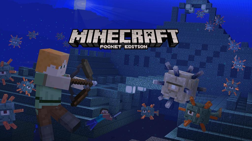 Minecraft Pocket Edition and Windows 10 Beta Boss Update