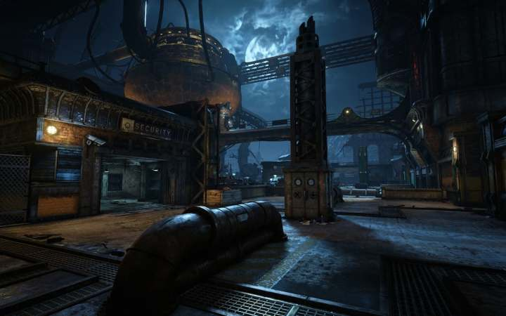 """Gears 4"" Forge Multiplayer Map Outside View"
