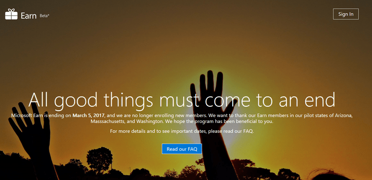 Earn by Microsoft
