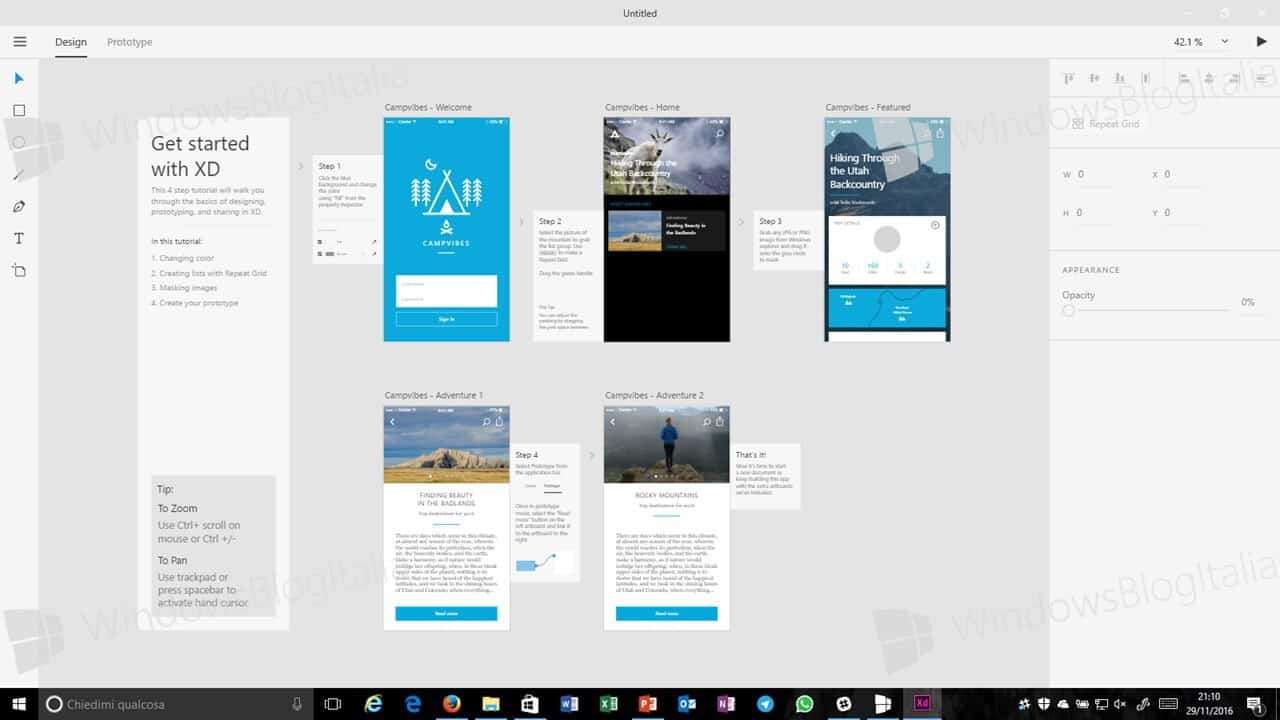 Adobe XD for Windows 10 now available as a private beta