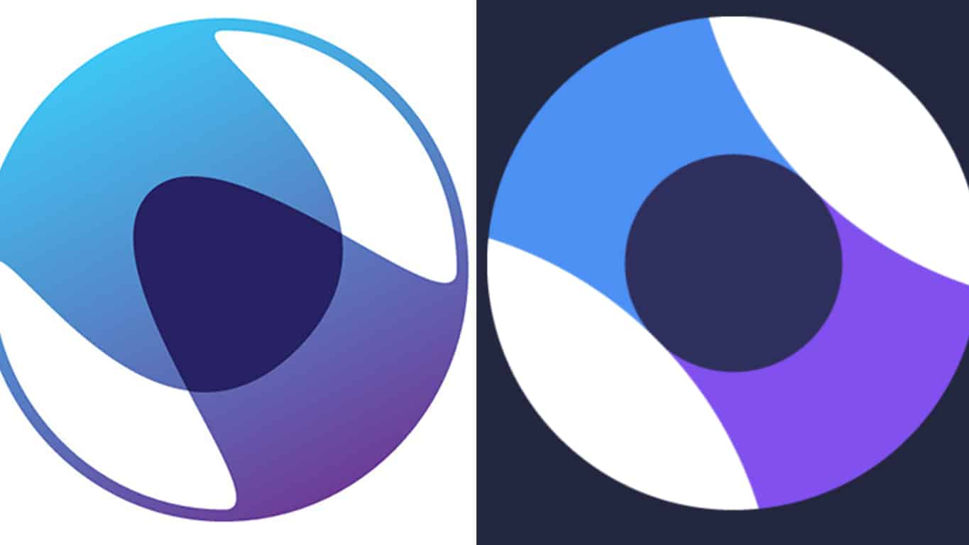 Microsoft's Old and New Beam Logos
