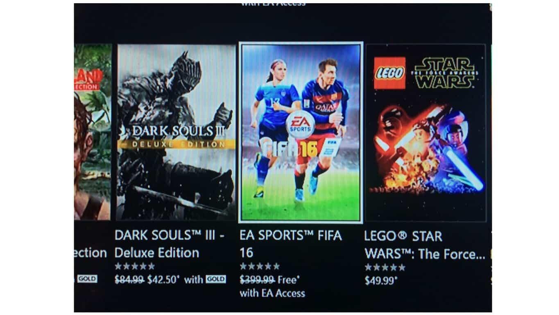 EA Sports FIFA 16 Glitch