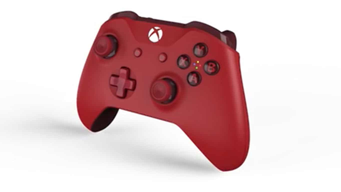 GameStop exclusive red Xbox One controller