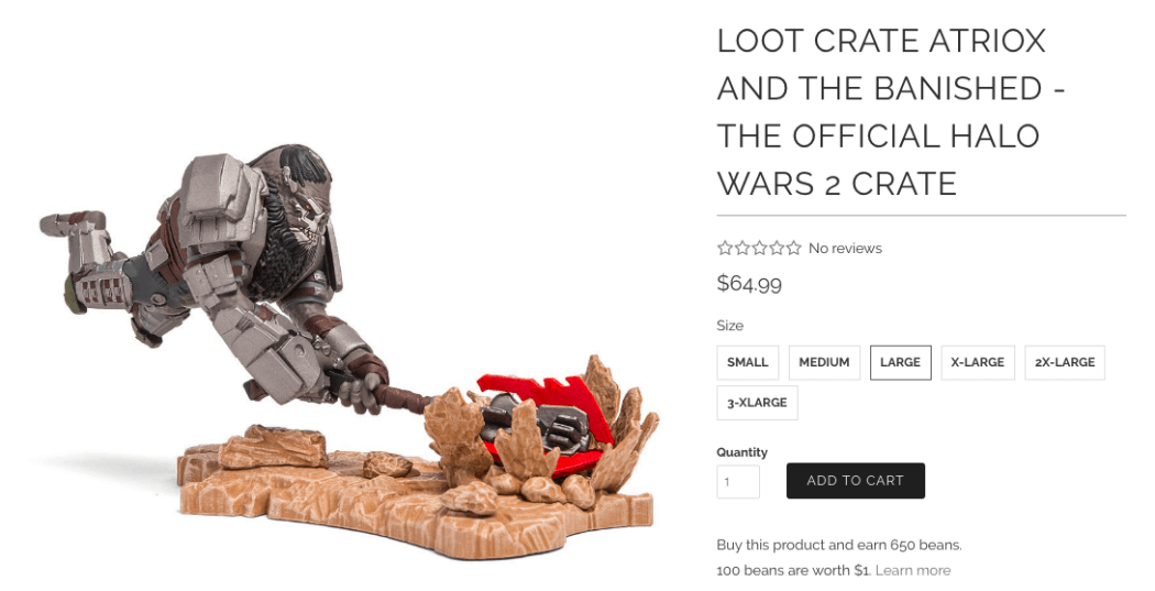 Halo Wars 2 loot crate