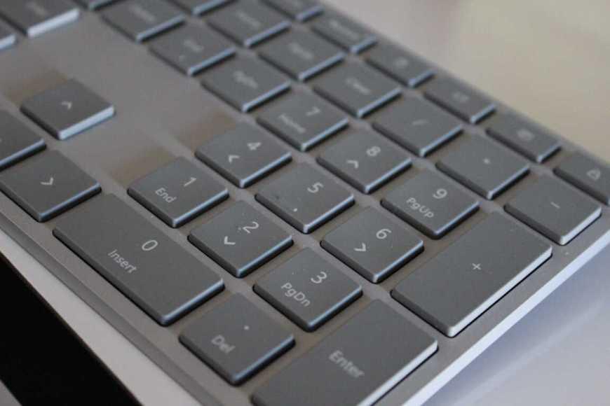 Surface Keyboard Media Keys