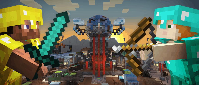 Minecraft Fallout Battle Map Pack