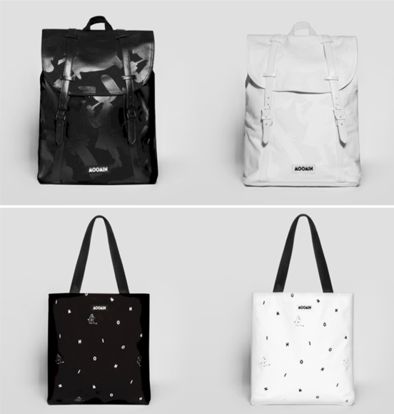 Moomin by Mozo backpacks