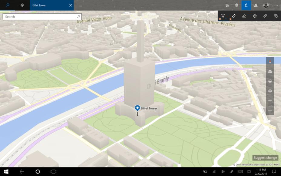 Windows Maps version 5.1611.10447.0