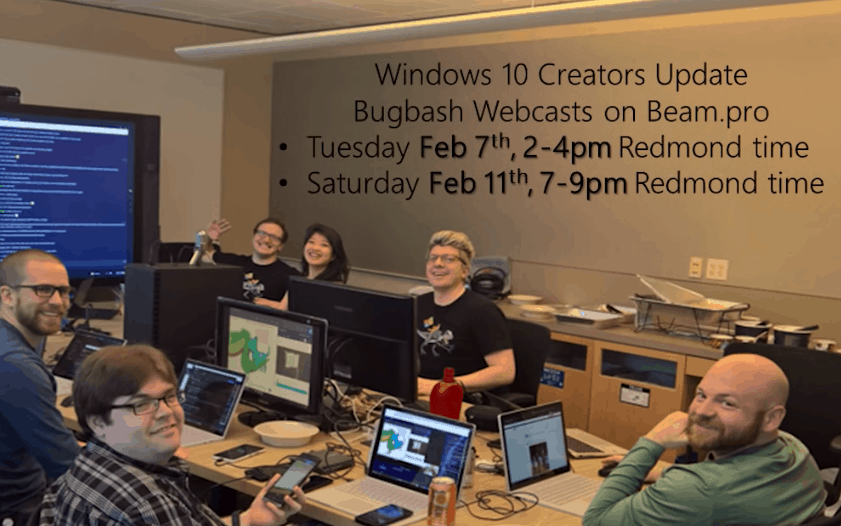 Windows 10 Insider bug bash