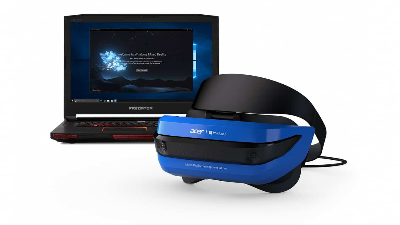 Acer Windows Mixed Reality Development Edition headset!