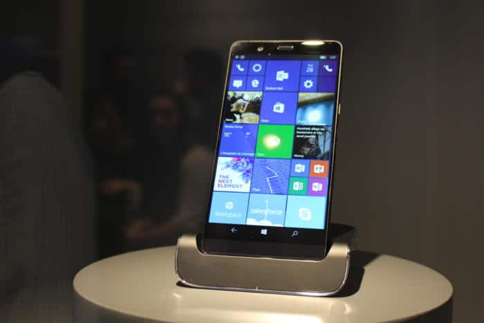 HP Elite x3 prototype MWC 2017
