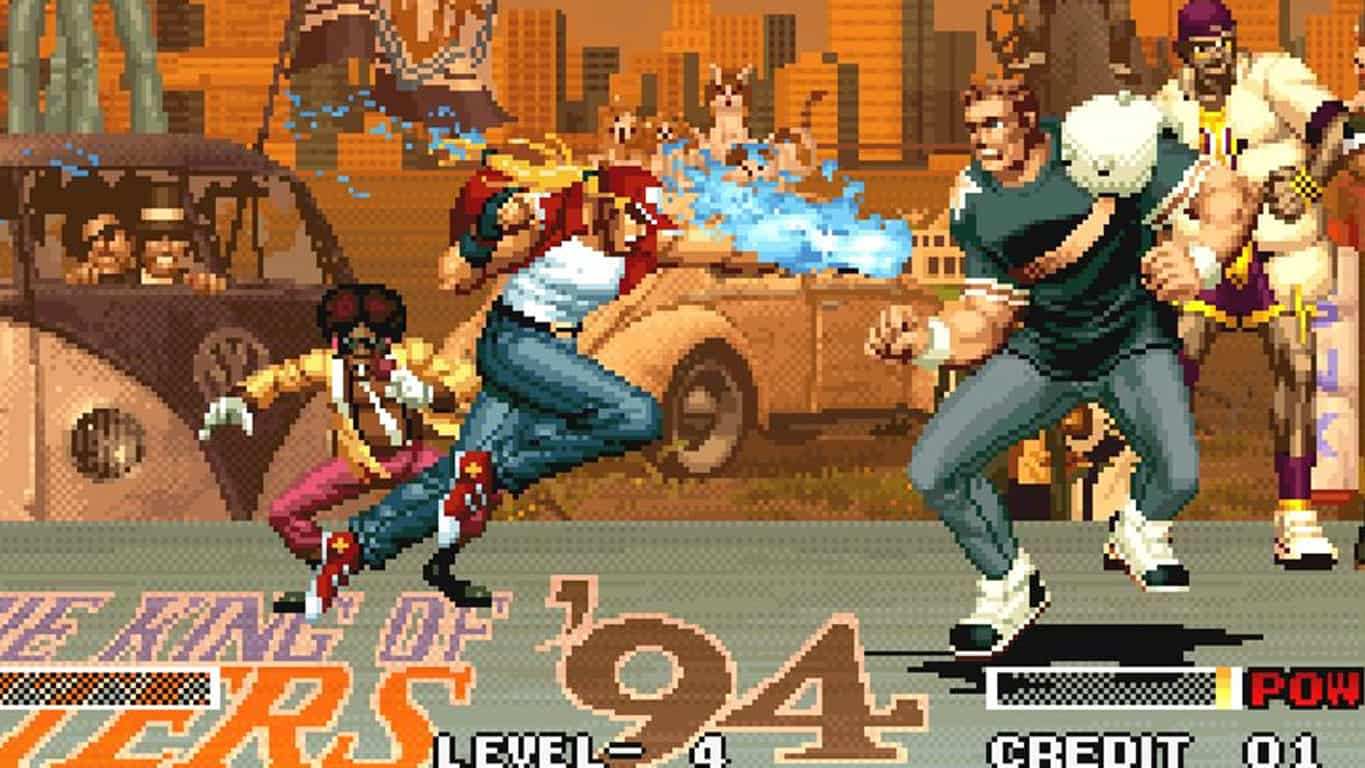 Neo Geo's The King of Fighters on Xbox One