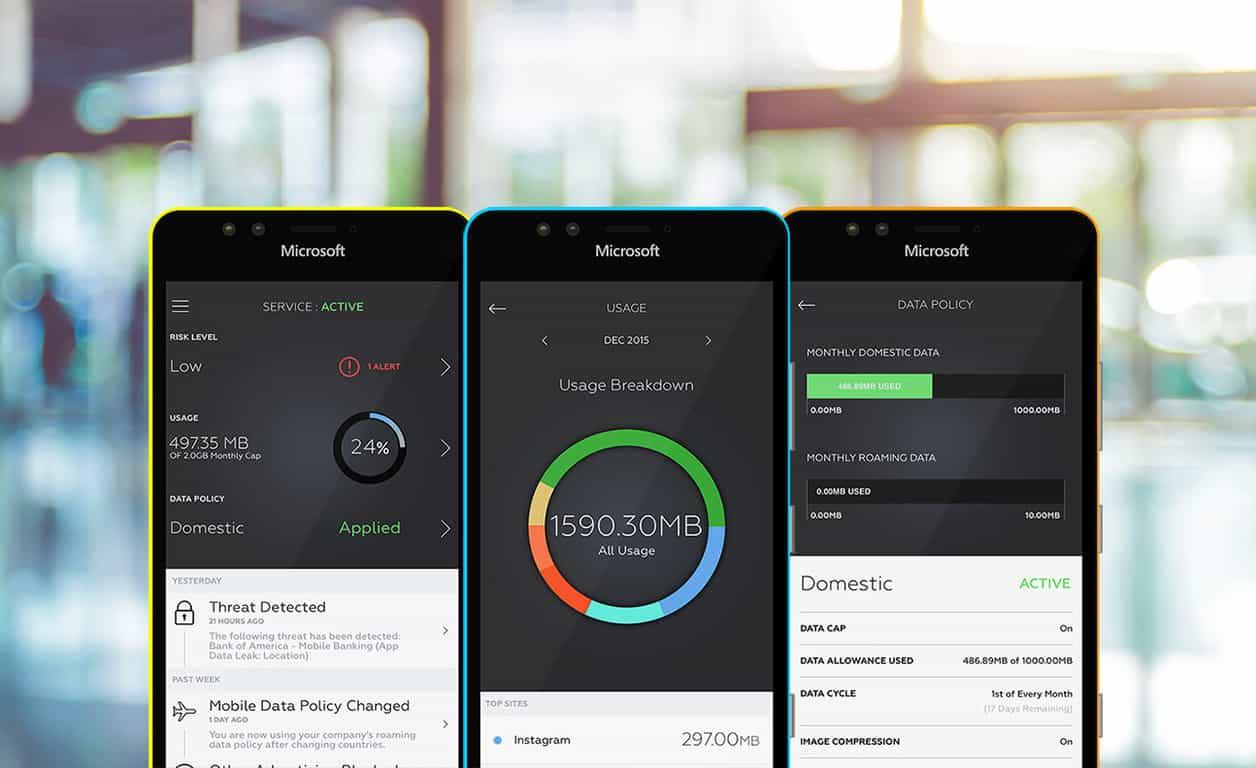 Microsoft, Wandera, Windows 10 Mobile