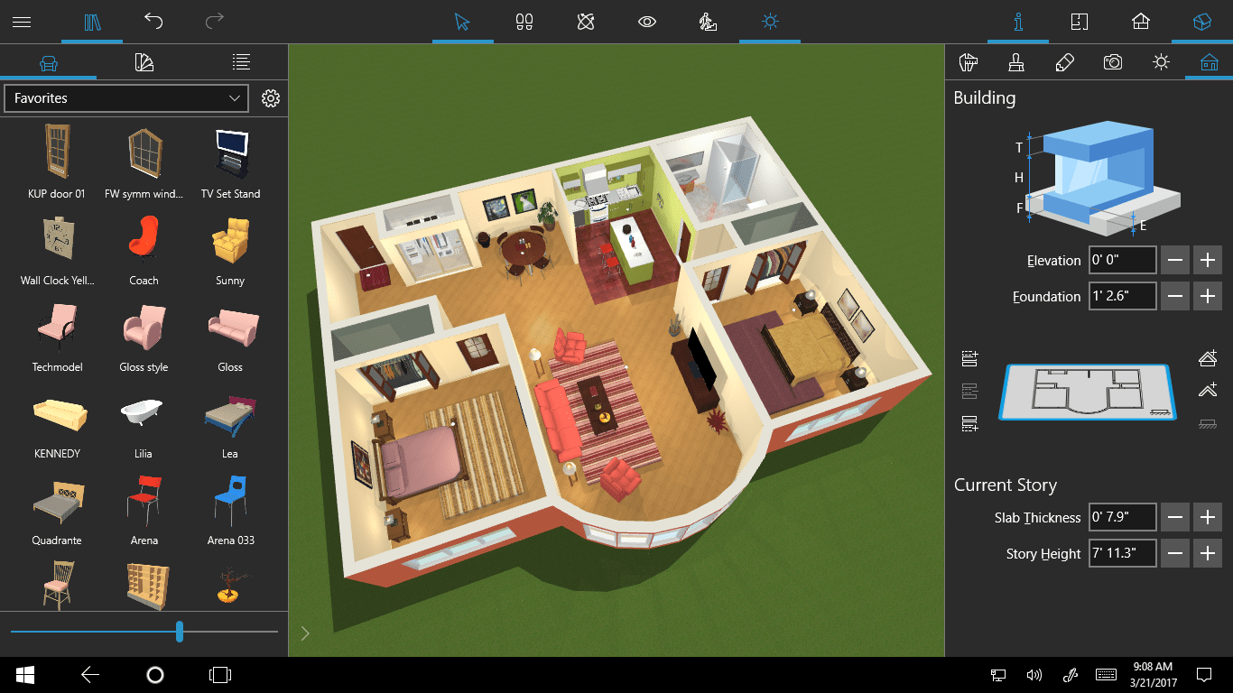 Design Your Home In 3D Live Home 3D For Windows 10