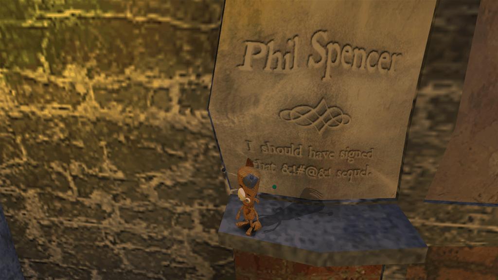 Voodoo Vince Phil Spencer Easter egg