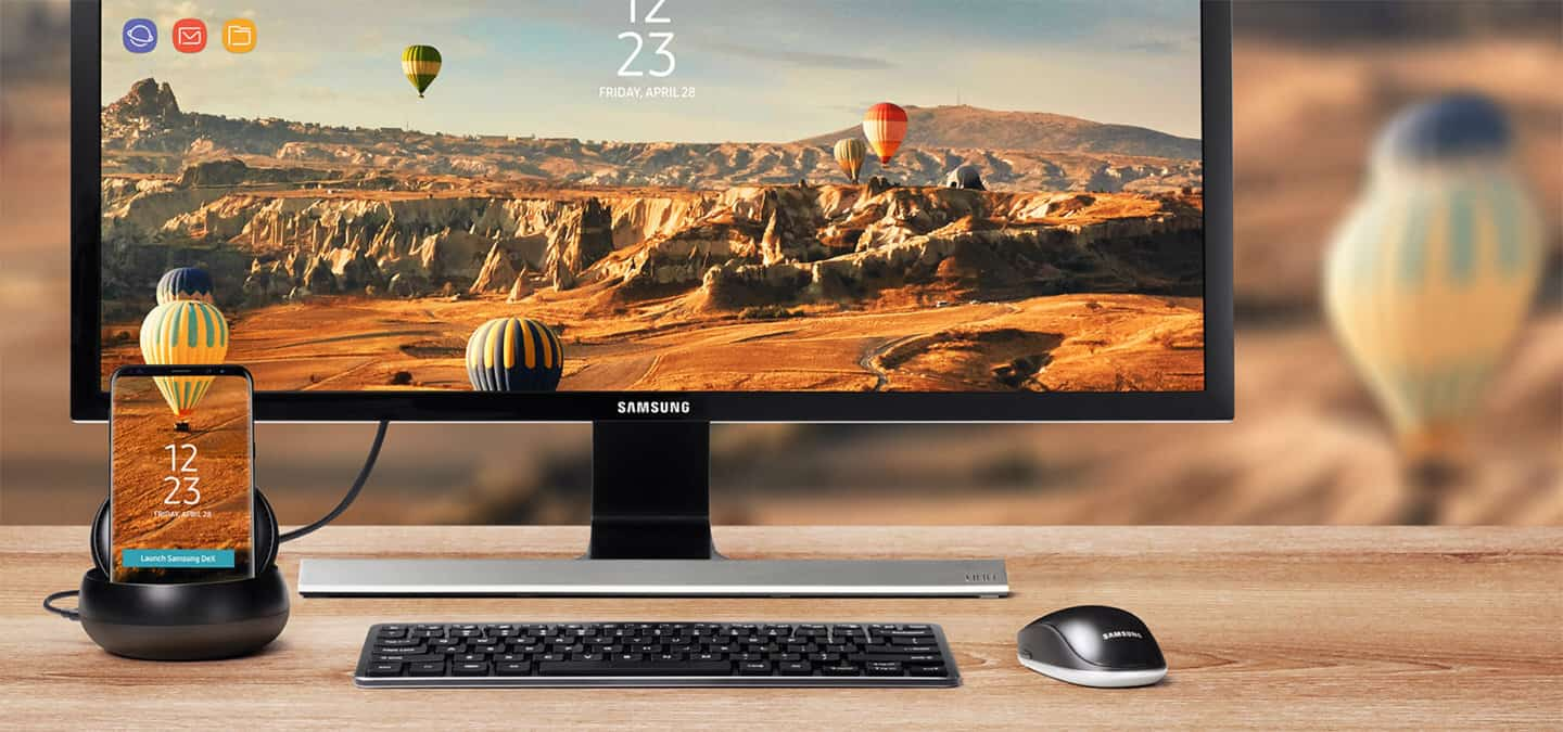 PSA: You can use the Samsung DeX Station with your Continuum