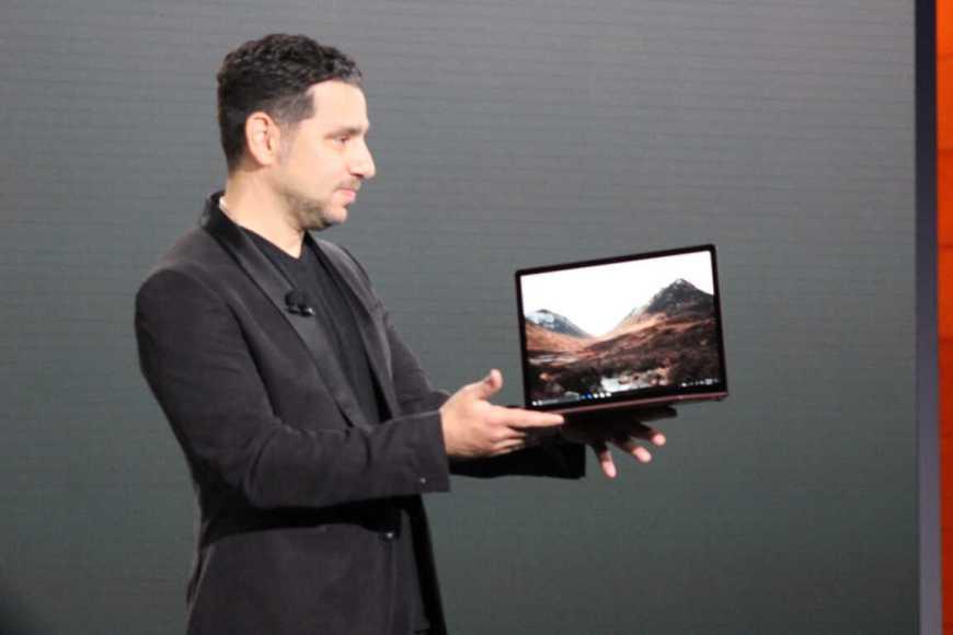 Panos Panay Surface Laptop