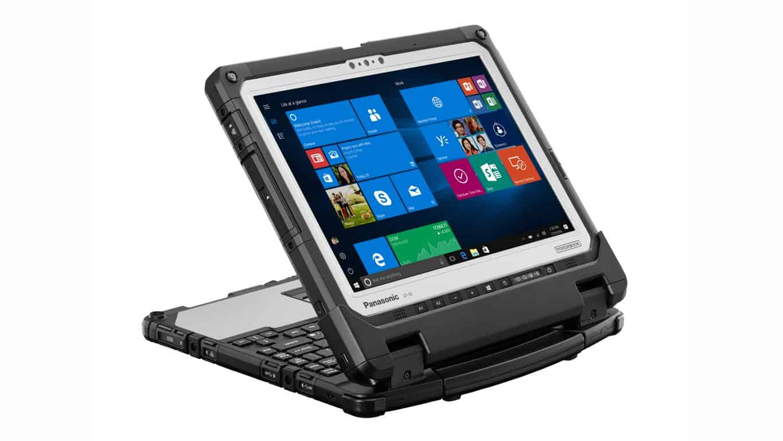 Microsoft, Panasonic, Toughbook, Windows 10
