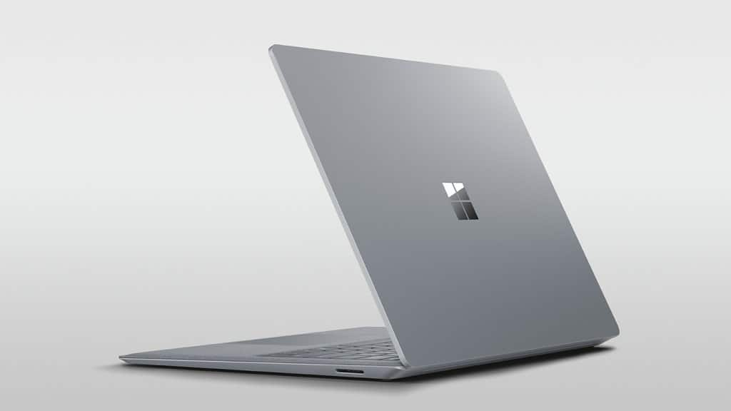 Surface Laptop back view @h0x0d