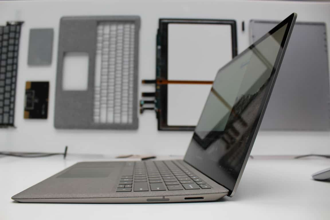 Side of Surface Laptop