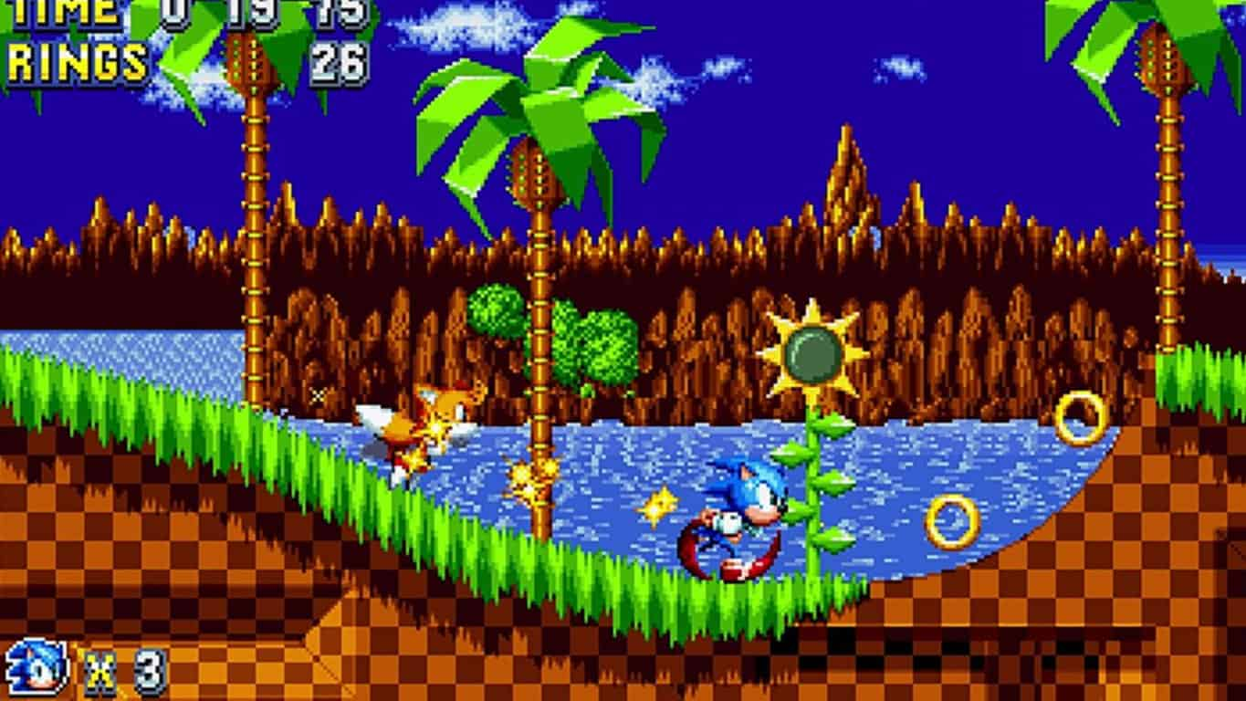 Sonic Mania on Xbox One