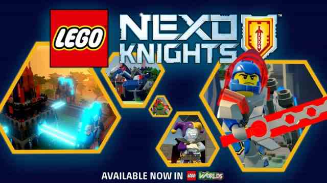 NEXO KNIGHTS are coming to LEGO Worlds on PC, Xbox One