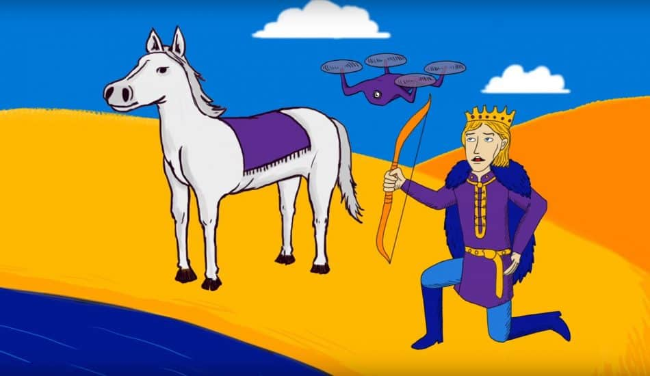 Prince and his IoT drone