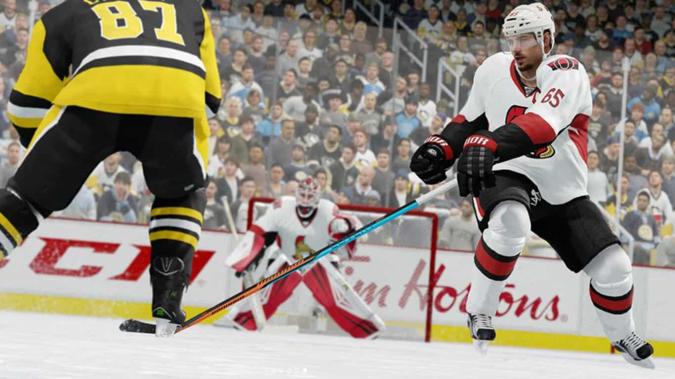 EA SPORTS NHL 18 on Xbox One