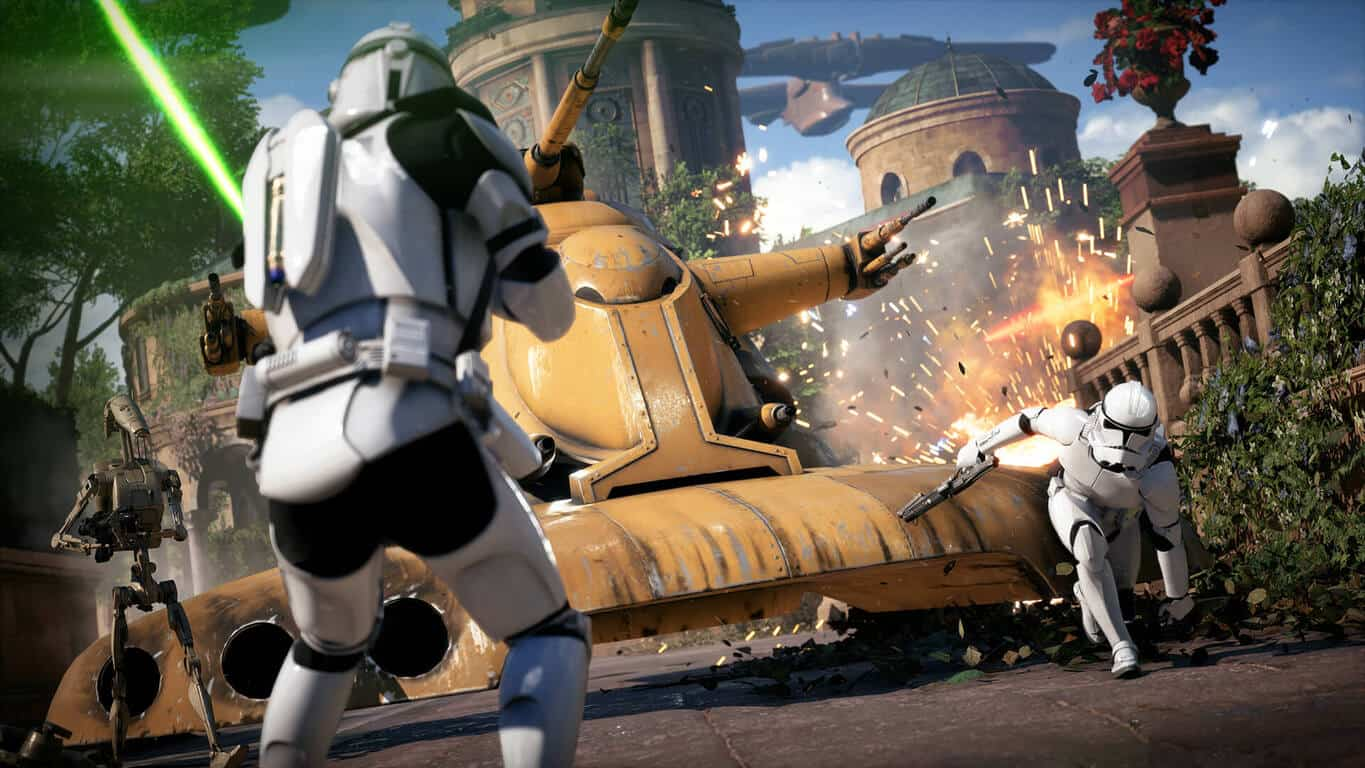 Star Wars Battlefront 2 on Xbox One