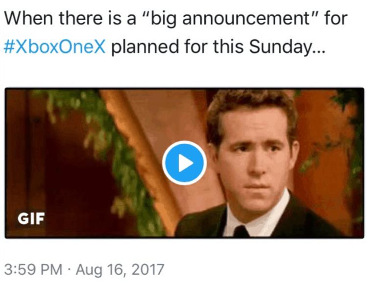 Gamestop Xbox One X Deleted Tweet