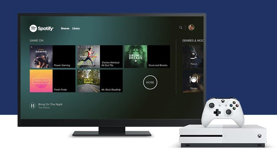 Spotify is out on Xbox One, but users complain of skips and
