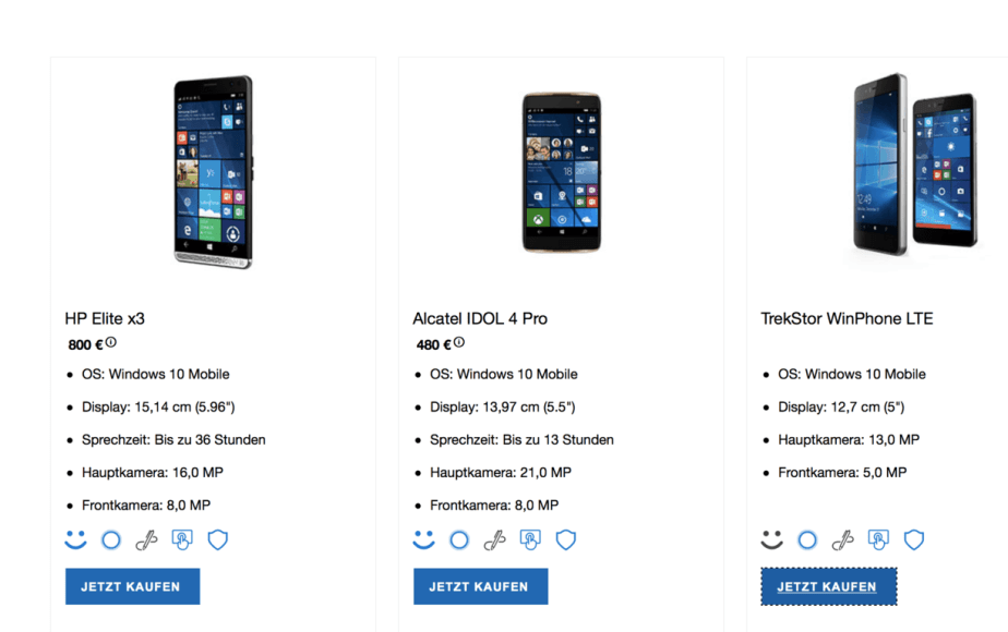 TrekStor Windows Phone - Windows 10 Mobile - Microsoft Store